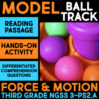 Model a Ball Track - Force & Motion Science Station