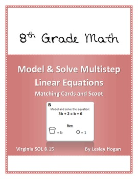 Model and Solve Multistep Linear Equations: Match and Scoot