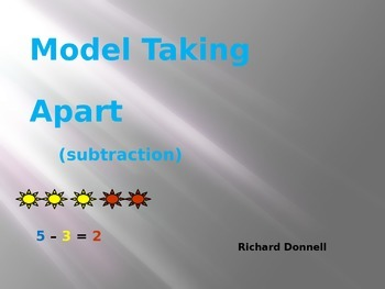 Model taking apart