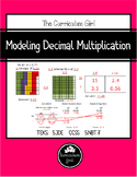 Modeling Decimal Multiplication Unit (5.3D, 5.NBT.7)