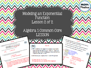 Modeling Exponential Functions Lesson 2 of 2
