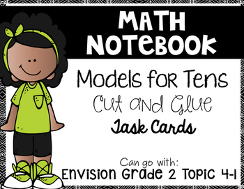 Models for Tens {Goes with Envision 2nd Grade Topic 4-1}