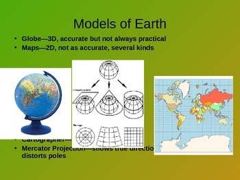 Models of Earth: Latitude, Longitude and Topographic Maps