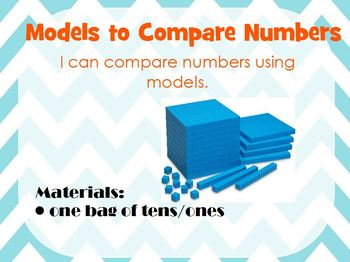 Models to Compare Numbers