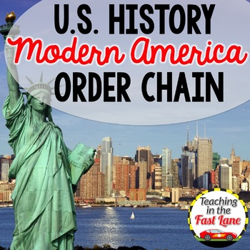 Modern America: Events of the 21st Century Timeline Order