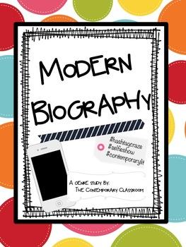 Modern Biography - A Biography Genre Study
