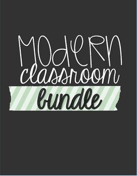 Modern Classrom {FULL BUNDLE}