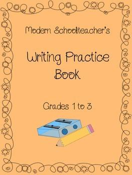 Modern Schoolteacher's Writing Practice Book-Grades 1-3
