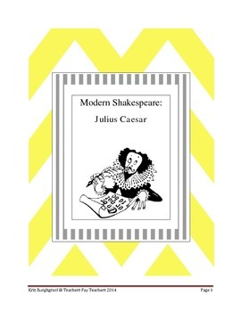 Modern Shakespeare (Julius Caesar)