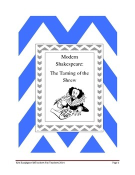 Modern Shakespeare (The Taming of the Shrew)