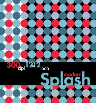 Modern Splash, Sophisticated Clip Art, Borders & Backgroun
