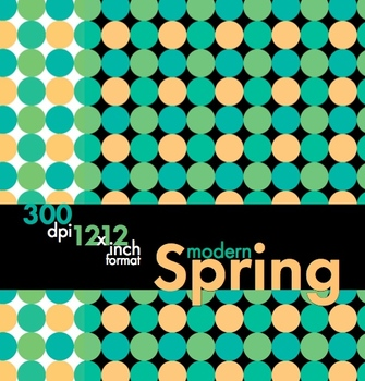Modern Spring, Sophisticated Clip Art, Borders & Backgroun