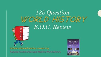 Modern World History End of Course (EOC) Review