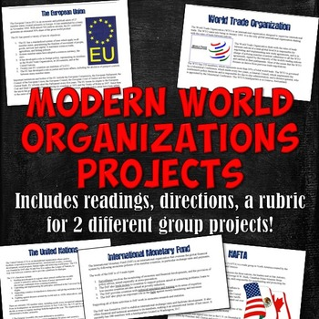 Modern World Organizations Projects