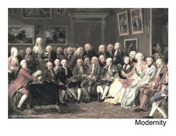 Modernity: the Enlightenment + Scientific Revolution  (Pre