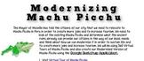 Modernizing Machu Picchu