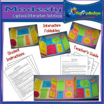 Modesty Lapbook