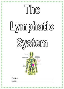 Modified Anatomy Notes & Test; Lymphatic System Unit, Diff