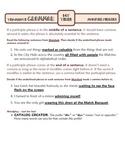 Modifier Phrases: Ten-Minute Grammar Unit #21
