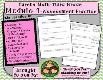 M1SG Eureka Math-End of Module 1 Assessment Practice