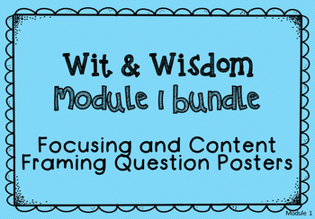 Module 1 Essential, Focusing, and Content Framing Question