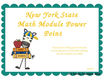 Grade 3 NYS Math Module 2: Lesson 2 Power Point