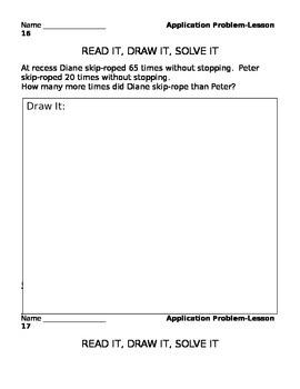 Module 3 Application Problems Lessons 2-6