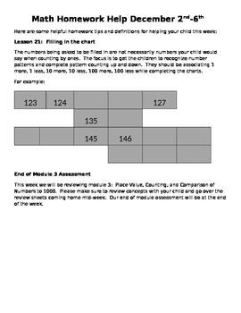 Module 3 Homework Helper Lessons 20-21