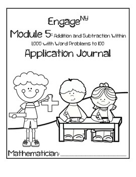 Second Grade Module 5 Application Problem Journal