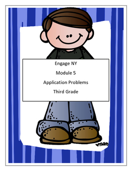 Module 5,Math, Third Grade - Application Problems