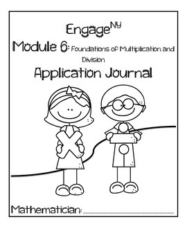 Second Grade Module 6 Application Problem Journal