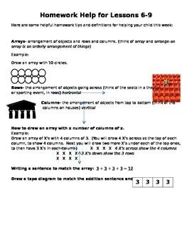 Module 6 Homework Helper Lessons 6-9