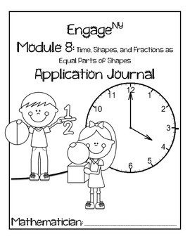 Second Grade Module 8 Application Problem Journal