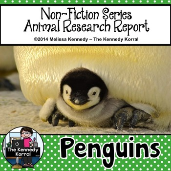Penguins {Nonfiction Animal Research Report}