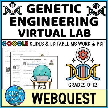 Biotechnology & Molecular Biology Virtual Lab WebQuest