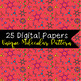 Molecular Candy - Digital Paper