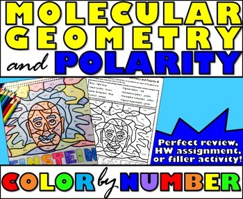 Molecular Geometry and Polarity - Color By Number