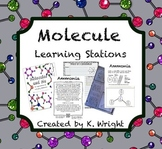 Molecule Learning Stations: Intro to Modeling Molecules wi