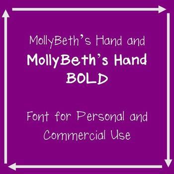 MollyBeth's Hand and BOLD- Commercial and Personal