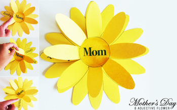 Mom Flower Card