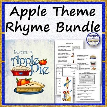 APPLE THEME Rhyme Bundle