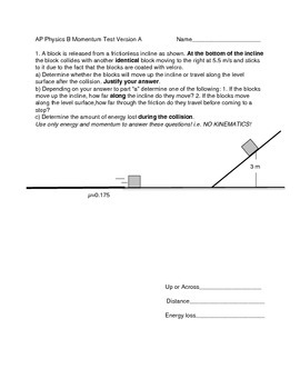 Momentum Free Response Test