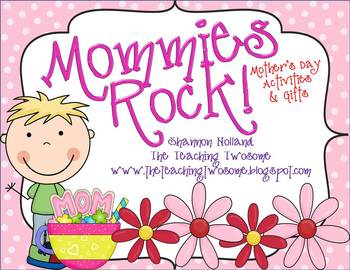 Mommies Rock! {Mother's Day Activities and Gifts}