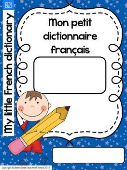 Mon dictionnaire français My French dictionary