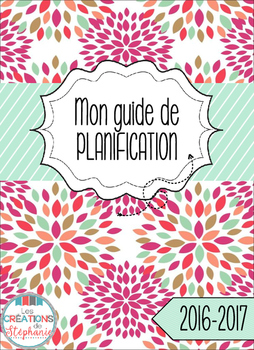 Mon guide de planification 2016-2017