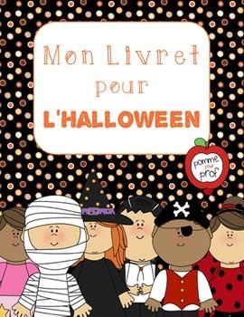 Mon livret pour l'Halloween (My Book for Halloween) - Fren