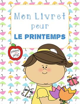 Mon livret pour le printemps (My Book for Spring) - French