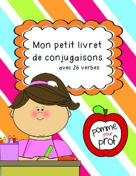 Mon petit livret de conjugaisons (My Little Book of Conjug