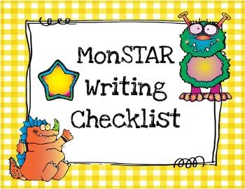 MonSTAR writing posters