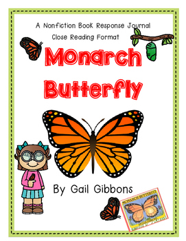 Monarch Butterfly by Gail Gibbons-A Nonfiction Book Respon